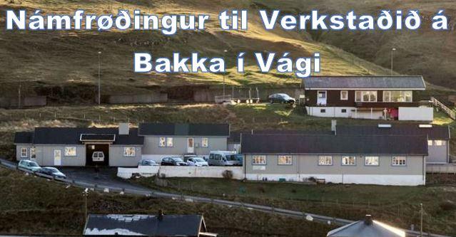 Vardi Verkstaðurin í Vági - námsfrøðingur